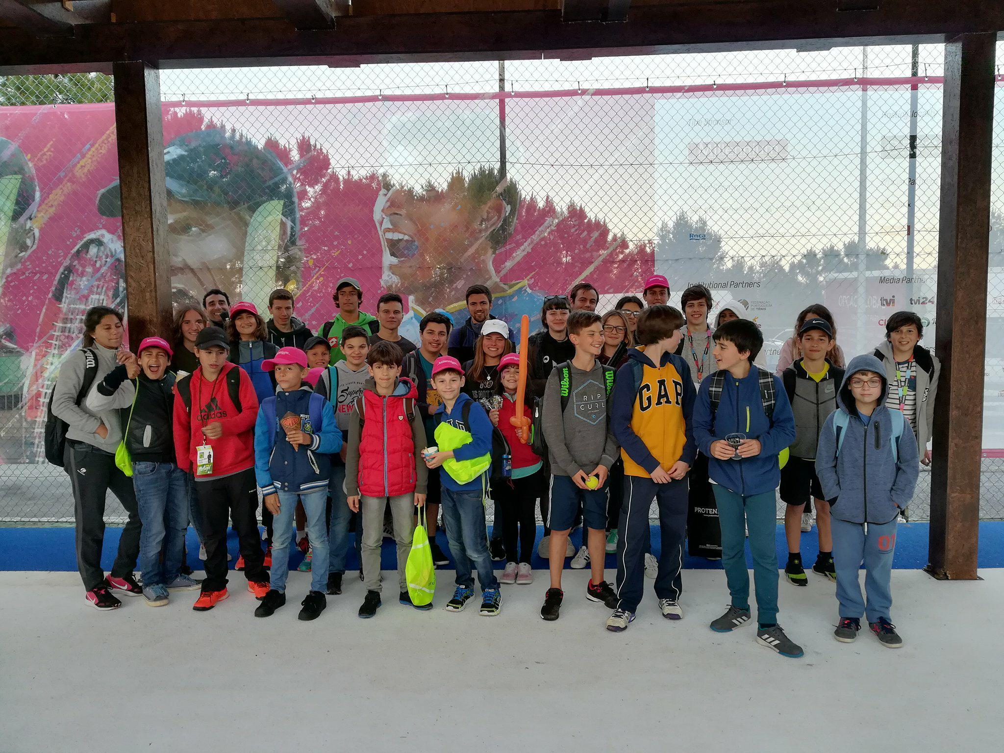 ETJC visita o Millenium Estoril Open