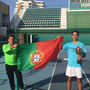 Pedro Araújo Vencedor em Pares na Tunísia