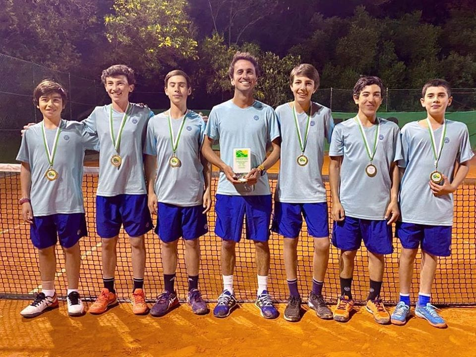 ETJC Campeã Regional de Equipas em Sub14 Masculinos